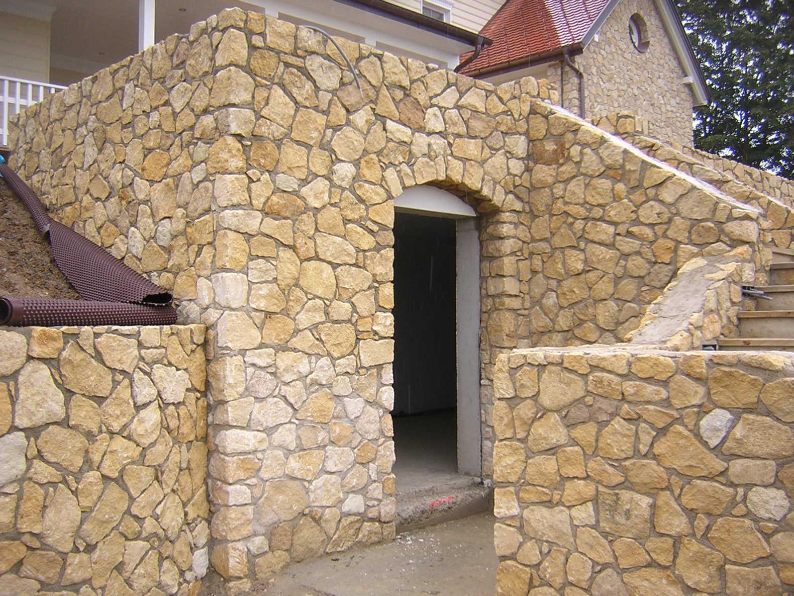 Sandsteinmauerwerk